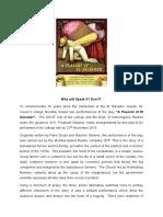 report of peasant of el salvador