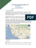 Ayacucho Caracterizacion