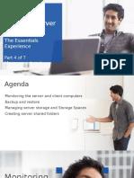 Windows Server 2012 R2 Essentials - Module 4 - Manage - Monitor - Part2