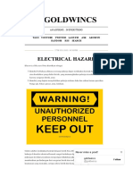 @Goldwincs _ Electrical Hazard