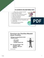 Metodologi Penelitian 3-4