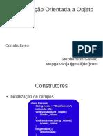 POO Java Construtores