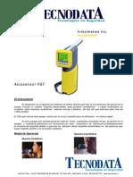 Folleto Alcosensor FST