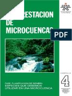Reforestacion de Microcuencas SENA Vol 4