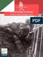 14-18 - Le Centenaire ein Meuse