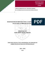 TESIS DE INVEST DE MERCADOS N° 002