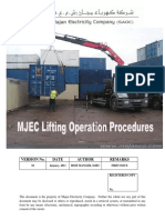 Attachment 3 MJEC Lifting Operation Procedures