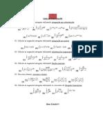 Lista de Exercícios 01 - Cálculo II (2)