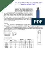 TR - ACL - Filtre Automate Cu Carbune (Industrial)