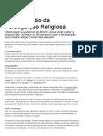 Classificação da Perseguição Religiosa