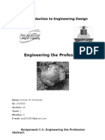 assignment 1 engineering the professional