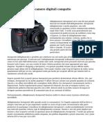 Vantaggi delle fotocamere digitali compatte
