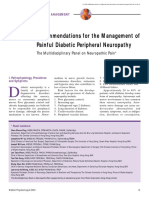 Mpnp Recommendations Painful Diabetic Neuropathy Aug 2003
