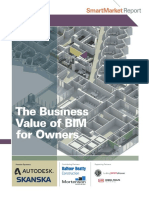 Business Value of BIM for Owners