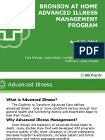 bronson at home advanced illness management program