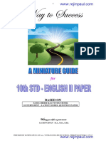 10th Eng2 Guide Study Material