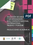 EDUCACIÓN SECUNDARIA Y SUS MODALIDADES EN EL CONTEXTO NACIONAL E INTERNACIONAL