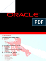 Initiation Sur Oracle