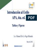 Tablas y Figuras Apa 6ta. Ed.