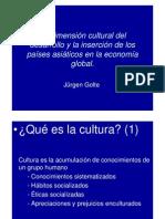 La dimensión cultural del desarrollo[1] [Modo de compatibilidad]