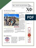 Chi Phi Newsletter