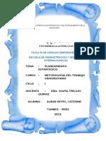 Monografia Planeamiento Estrategico 2015