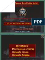 Metrados MT-CS-CA