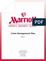 marriot crisis plan