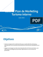 Plan de Marketing Turismo Interno