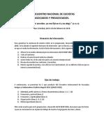 Primer Documento Oficial Del EEAP San Cristóbal 2016