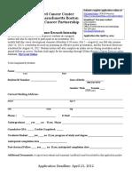 Dana Farber U54 Application