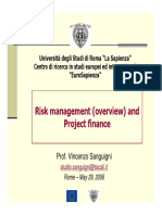 RM e Project Finance_Sanguigni