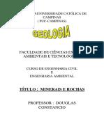 Minerais e Rochas - 2