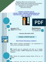 Presentacion Norma Covenin