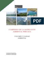 Compendio de La Legislación Ambiental Peruana i