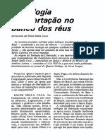 Teologia Da Libertação No Banco Dos Réus.
