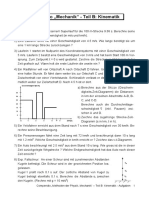 Physik-Aufgaben Compendio Mechanik Teil B