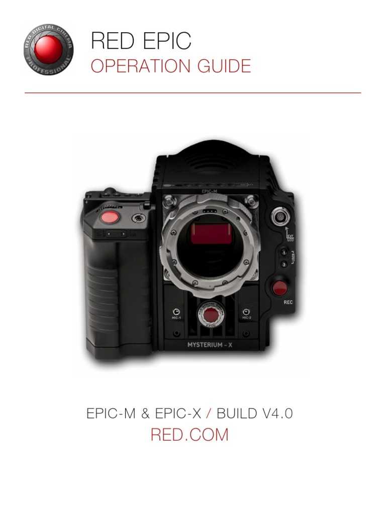 red epic mysterium manual color balance electromagnetic interference rh scribd com Epic Box Epic Headphones