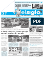 Edición Impresa Elsiglo 27-12-2015