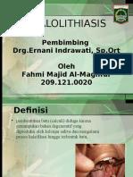 sialolitiasis