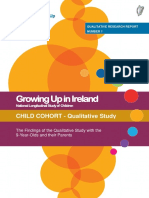 Growing Up in Ireland - The Findings of the Qualitative Study With the 9-Year-Olds and Their Parents