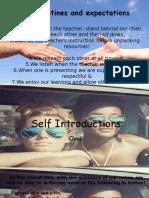 4  introducing self