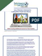 Savings Society Secret Report 4-1-10 PDF