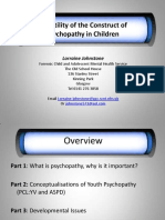 The Utility of the Construct Psychopathy 2