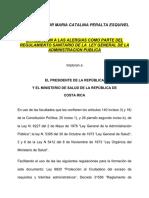 Propuesta Legal Ministerio de Salud CR