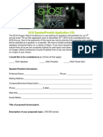 2016 OGC Speaker-Panelist Application Form