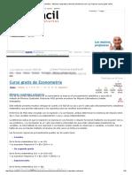 Curso Gratis de Econometría - Mínimos Cuadrados Ordinarios _ AulaFacil 11