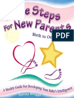 Little Steps for New Parents - Birth to One Year - Weekly Guide for Developing Your Baby's Intelligence