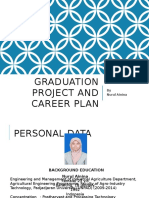 Nurul Ainina - Graduation Project and Career Plan