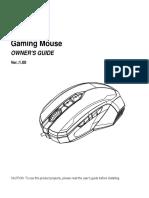 MSI Gaming Mouse User Manual